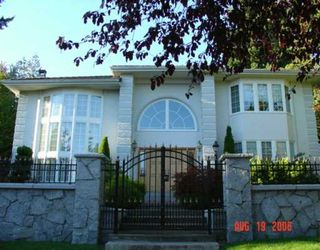Photo 1: 1289 W 40TH AV in Vancouver: Shaughnessy House for sale (Vancouver West)  : MLS®# V607761