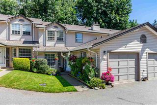 """Photo 1: 8 2803 MARBLE HILL Drive in Abbotsford: Abbotsford East Townhouse for sale in """"Marble Hill Place"""" : MLS®# R2477993"""