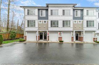 "Photo 1: 14 8747 162 Street in Surrey: Fleetwood Tynehead Townhouse for sale in ""Fleetwood Grove"" : MLS®# R2525253"
