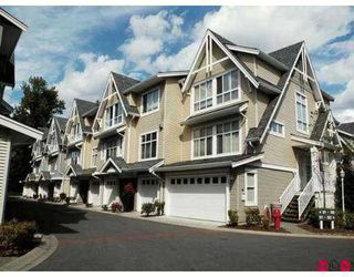"Photo 1: 48 6450 199TH ST in Langley: Willoughby Heights Townhouse for sale in ""Logan's Landing"" : MLS®# F2618113"