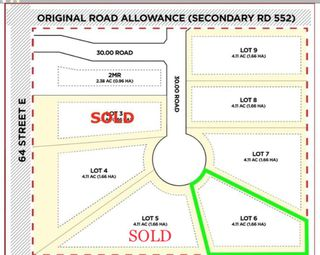 Photo 1: Lot 6 64068 Mikhail Place E: Rural Foothills County Land for sale : MLS®# A1056570
