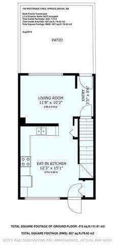 Photo 24: 6 100 WESTRIDGE Crescent: Spruce Grove Townhouse for sale : MLS®# E4169470