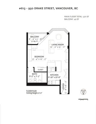 """Photo 20: 613 950 DRAKE Street in Vancouver: Downtown VW Condo for sale in """"ANCHOR POINT II"""" (Vancouver West)  : MLS®# R2427923"""