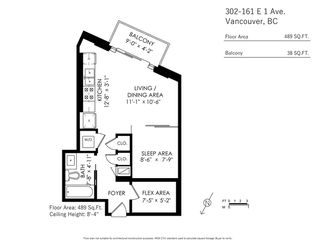 Photo 24: 302 161 E 1ST Avenue in Vancouver: Mount Pleasant VE Condo for sale (Vancouver East)  : MLS®# R2470790