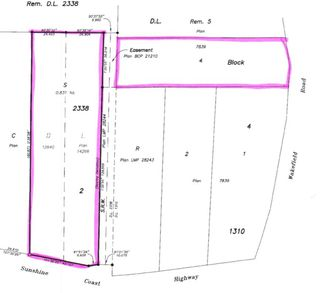 Photo 2: Lot S SUNSHINE COAST Highway in Sechelt: Sechelt District Land for sale (Sunshine Coast)  : MLS®# R2428376