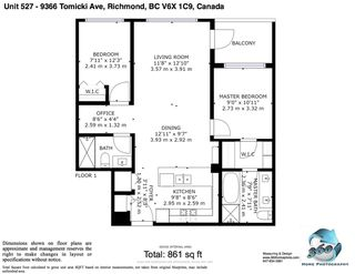 "Photo 4: 527 9366 TOMICKI Avenue in Richmond: West Cambie Condo for sale in ""ALEXANDRA COURT"" : MLS®# R2506202"