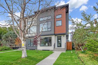 Main Photo: 806 20A Avenue NE in Calgary: Winston Heights/Mountview Semi Detached for sale : MLS®# A1053242