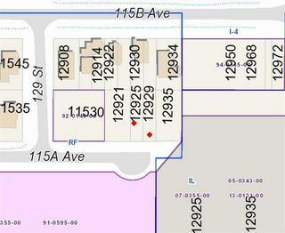 Main Photo: 12929 115A Avenue in Surrey: Bridgeview Land for sale (North Surrey)  : MLS®# R2420734