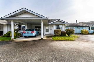 "Photo 1: 122 7610 EVANS Road in Chilliwack: Sardis West Vedder Rd Townhouse for sale in ""Cottonwood Retirement Village"" (Sardis)  : MLS®# R2441700"