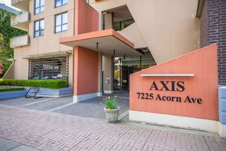 "Photo 1: 405 7225 ACORN Avenue in Burnaby: Highgate Condo for sale in ""AXIS"" (Burnaby South)  : MLS®# R2408019"