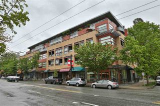 "Main Photo: 408 2250 COMMERCIAL Drive in Vancouver: Grandview Woodland Condo for sale in ""MARQUEE ON THE DRIVE"" (Vancouver East)  : MLS®# R2426965"