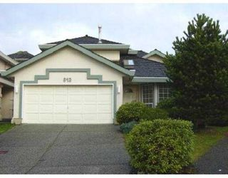 Photo 1: 843 BAILEY CT in Port Coquiltam: Citadel PQ House for sale (Port Coquitlam)  : MLS®# V571397