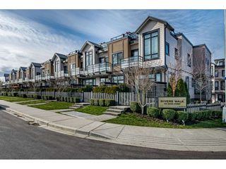 "Main Photo: 8 100 WOOD Street in New Westminster: Queensborough Townhouse for sale in ""Rivers Walk"" : MLS®# R2439146"