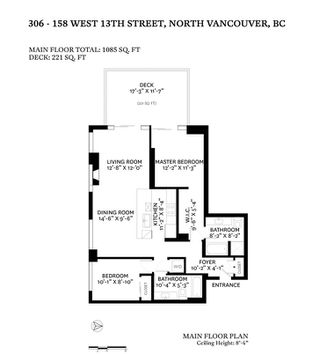 """Photo 38: 306 158 W 13TH Street in North Vancouver: Central Lonsdale Condo for sale in """"Vista Place"""" : MLS®# R2473450"""