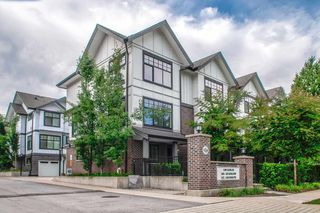 "Main Photo: 1 5108 CLAUDE Avenue in Burnaby: Burnaby Lake Townhouse for sale in ""SAVILE ROW"" (Burnaby South)  : MLS®# R2494810"
