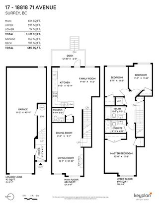"""Photo 19: 17 18818 71 Avenue in Surrey: Clayton Townhouse for sale in """"Joi Living II"""" (Cloverdale)  : MLS®# R2526344"""