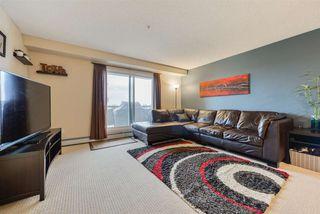 Photo 1: 403 2430 GUARDIAN Road in Edmonton: Zone 58 Condo for sale : MLS®# E4214342