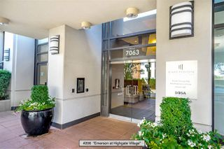 """Photo 2: 206 7063 HALL Avenue in Burnaby: Highgate Condo for sale in """"EMERSON at Highgate Village"""" (Burnaby South)  : MLS®# R2389520"""