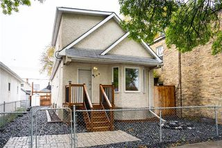 Photo 1: 708 Aberdeen Avenue in Winnipeg: North End Residential for sale (4A)  : MLS®# 1928497