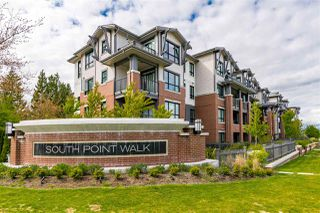 """Photo 1: 218 2960 151 Street in Surrey: King George Corridor Condo for sale in """"South Point Walk 2"""" (South Surrey White Rock)  : MLS®# R2451951"""
