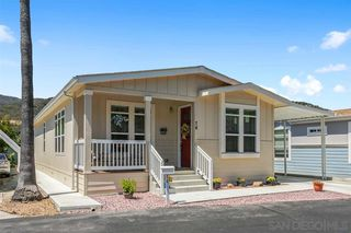 Photo 1: NORTH ESCONDIDO Manufactured Home for sale : 3 bedrooms : 8975 Lawrence Welk Dr #74 in Escondido