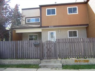 Main Photo: 8057 27 Avenue in Edmonton: Zone 29 Townhouse for sale : MLS®# E4212503