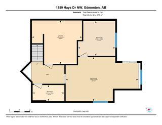 Photo 50: 1189 HAYS Drive in Edmonton: Zone 58 House for sale : MLS®# E4213069