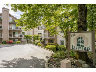 "Main Photo: 201 455 BROMLEY Street in Coquitlam: Coquitlam East Condo for sale in ""LAS PALMAS"" : MLS®# R2502060"