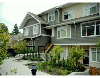 "Photo 1: 24 6878 SOUTHPOINT DR in Burnaby: South Slope Townhouse for sale in ""CORTINA"" (Burnaby South)  : MLS®# V607740"