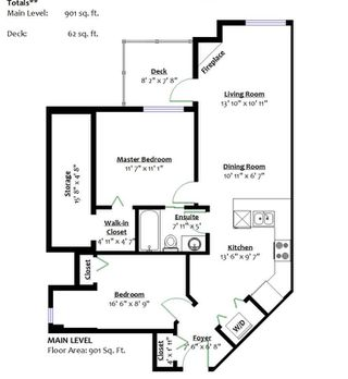 """Photo 19: 401 128 W 21ST Street in North Vancouver: Central Lonsdale Condo for sale in """"The Westside"""" : MLS®# R2417552"""