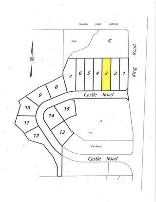 "Main Photo: LOT 3 CASTLE Road in Gibsons: Gibsons & Area Land for sale in ""KING & CASTLE"" (Sunshine Coast)  : MLS®# R2422349"