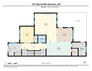 Photo 38: 7211 MAY Road in Edmonton: Zone 14 House Half Duplex for sale : MLS®# E4192593
