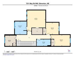 Photo 39: 7211 MAY Road in Edmonton: Zone 14 House Half Duplex for sale : MLS®# E4192593
