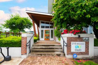 "Photo 2: 307 215 BROOKES Street in New Westminster: Queensborough Condo for sale in ""DUO AT PORT ROYAL"" : MLS®# R2456749"
