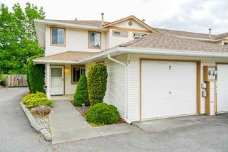 """Main Photo: 7 26727 30A Avenue in Langley: Aldergrove Langley Townhouse for sale in """"ASHLEY COURT"""" : MLS®# R2462142"""