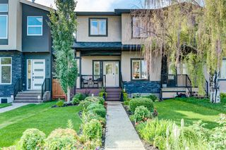 Main Photo: 225 24 Avenue NW in Calgary: Tuxedo Park Semi Detached for sale : MLS®# A1015809