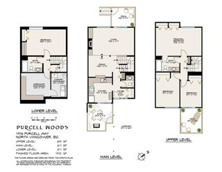 "Photo 3: 1916 PURCELL Way in North Vancouver: Lynnmour Townhouse for sale in ""PURCELL WOODS"" : MLS®# R2514633"