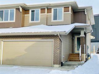Photo 1: 38 JUNEAU Way: St. Albert House Half Duplex for sale : MLS®# E4182131