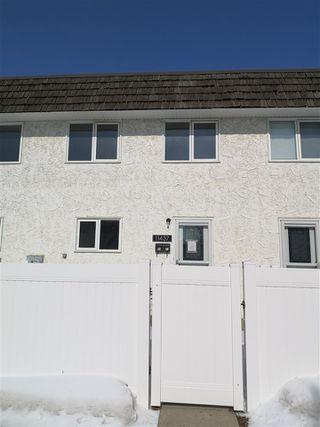 Photo 1: 11437 22 AV NW in Edmonton: Zone 16 Townhouse for sale : MLS®# E4194684