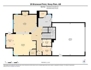 Photo 44: 20 BRIARWOOD Point: Stony Plain House for sale : MLS®# E4186414