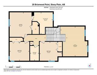Photo 45: 20 BRIARWOOD Point: Stony Plain House for sale : MLS®# E4186414