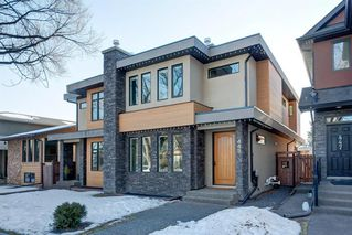 Main Photo: 445 21 Avenue NW in Calgary: Mount Pleasant Semi Detached for sale : MLS®# A1062501