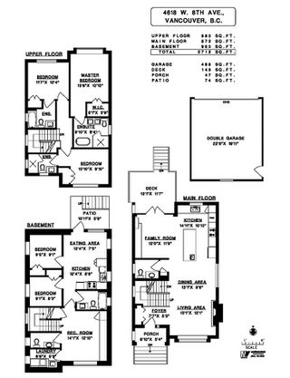 """Photo 20: 4618 W 8TH Avenue in Vancouver: Point Grey House for sale in """"POINT GREY"""" (Vancouver West)  : MLS®# R2415762"""