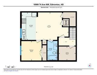 Photo 48: 10988 74 Avenue in Edmonton: Zone 15 House Half Duplex for sale : MLS®# E4194651