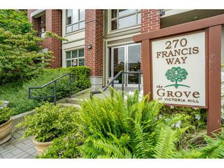 "Photo 2: 202 270 FRANCIS Way in New Westminster: Fraserview NW Condo for sale in ""THE GROVE"" : MLS®# R2479448"
