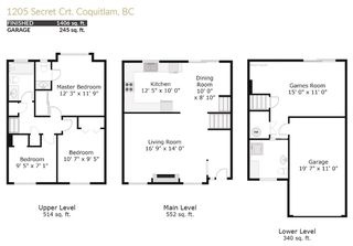 Photo 20: 1205 SECRET Court in Coquitlam: New Horizons House for sale : MLS®# R2437019