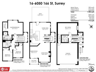 """Photo 38: 16 6050 166 Street in Surrey: Cloverdale BC Townhouse for sale in """"Westfield"""" (Cloverdale)  : MLS®# R2506257"""
