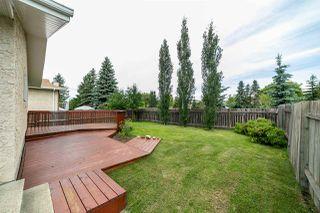 Photo 46: 18512 61 Avenue in Edmonton: Zone 20 House for sale : MLS®# E4172293