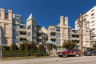 "Main Photo: 102 509 CARNARVON Street in New Westminster: Downtown NW Condo for sale in ""Hillside Place"" : MLS®# R2413799"