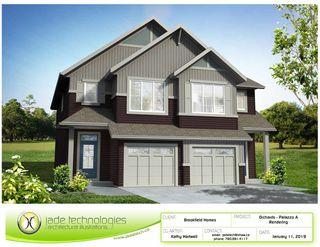 Photo 1: 7536 Elmer Bend in Edmonton: Zone 57 House Half Duplex for sale : MLS®# E4217371
